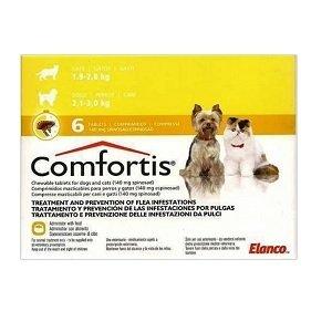 Comfortis 140 Mg 6 Tablets Agrimed Malta