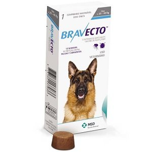 bravecto chewable dog 20-40
