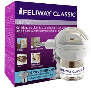 feliway clasic diffuser + refill