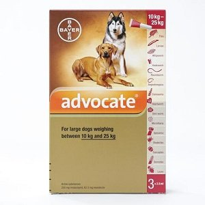 advocate for dog 10-25 kg