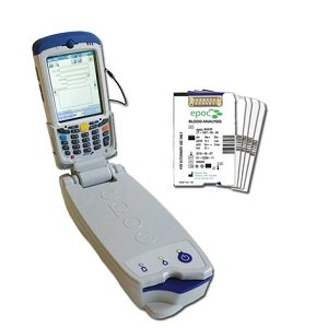 EPOC PORTABLE BLOOD GAS ELECTROLYTE AND CRITICAL CARE ANALYSER