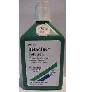 betadine 500 ml -
