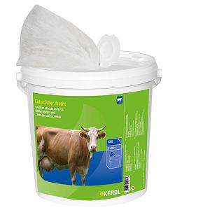 udder wet wipes bucket