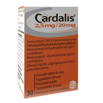 cardialis 2.5-20 mg
